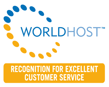 World Host recognition logo